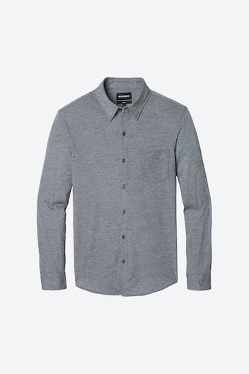 Knit Button-Down