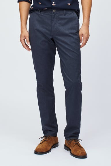 Yarn Dye Stretch Chinos