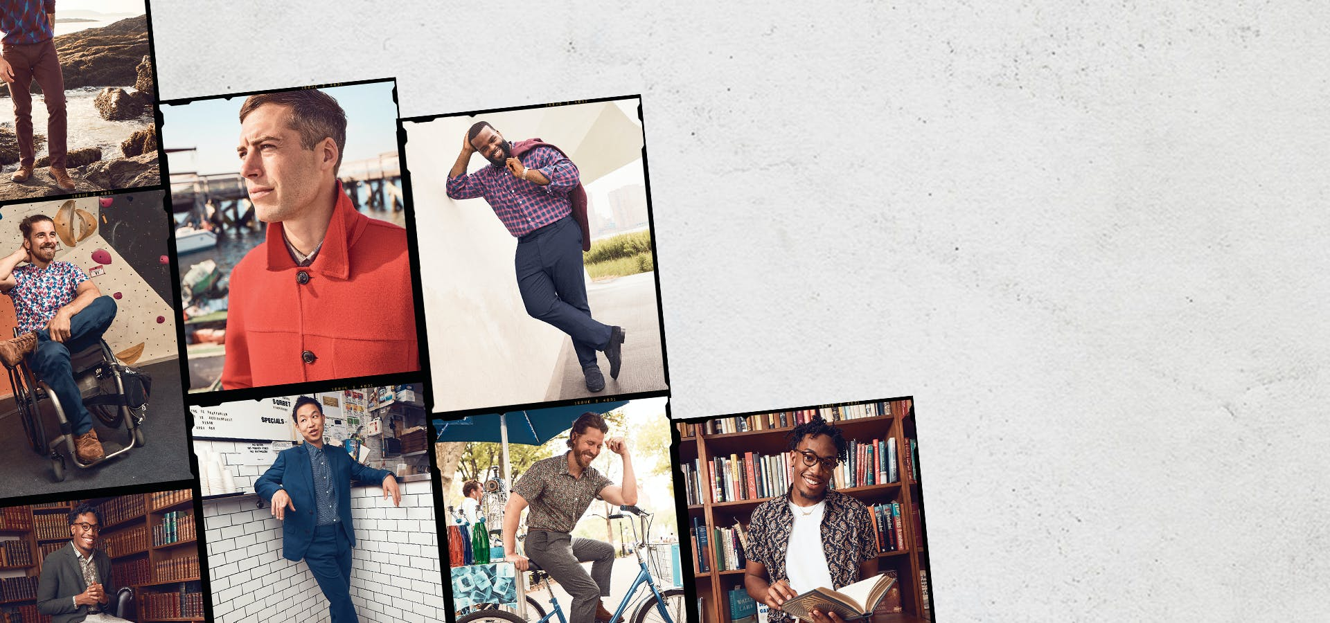 Stories of men from all across the country who found their fit.