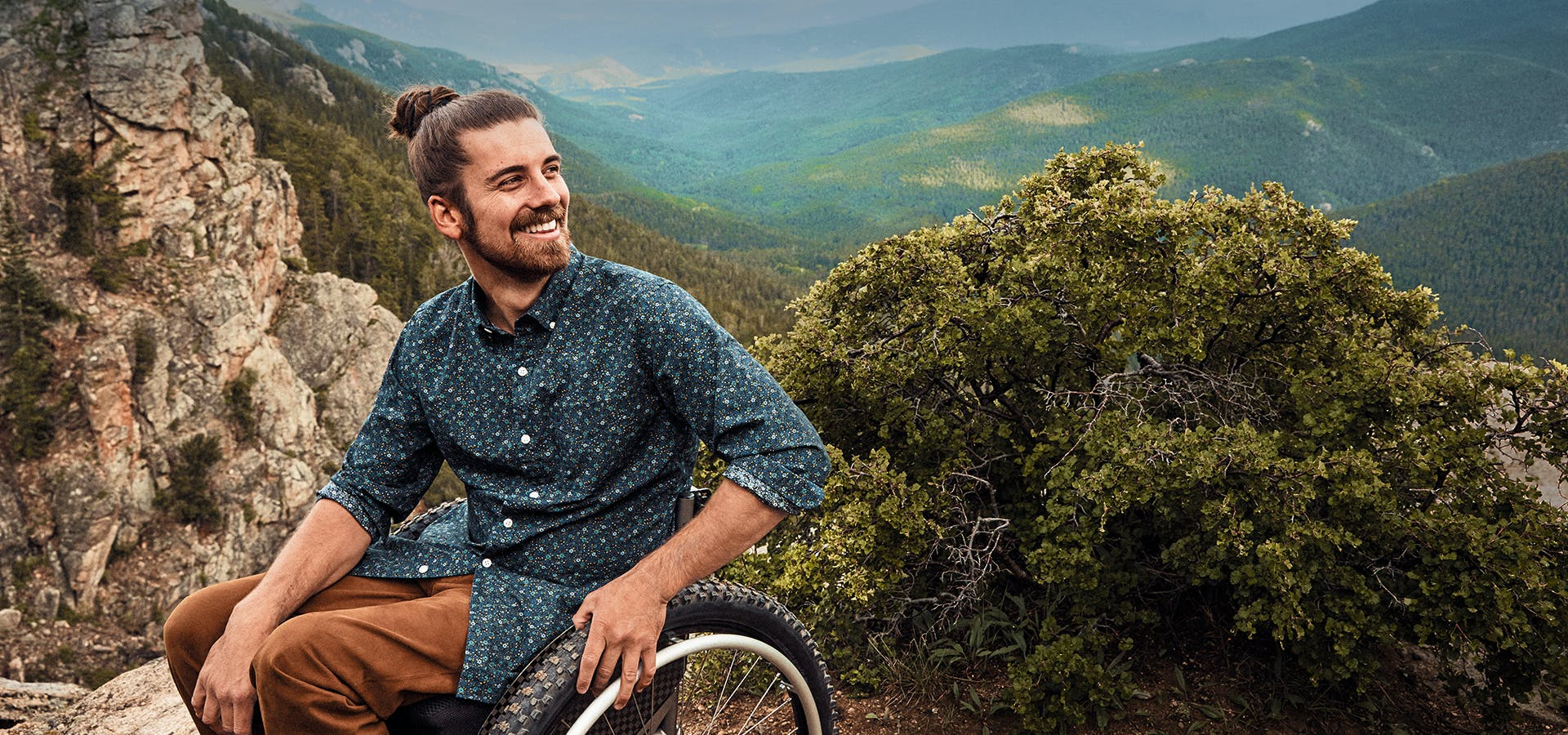 Meet Justin, a Coloradan that can usually be found in nature and a good shirt.