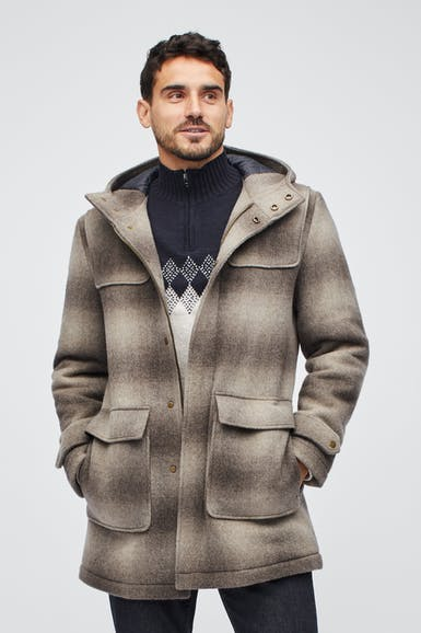 The Wool Alpaca Duffle Coat
