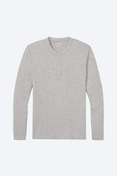 Jersey Long Sleeve Henley