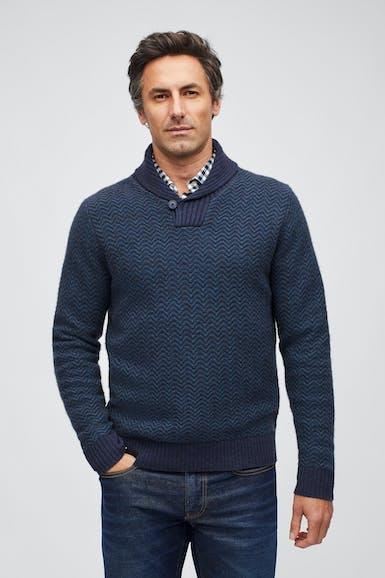 Yak Blend Chevron Sweater