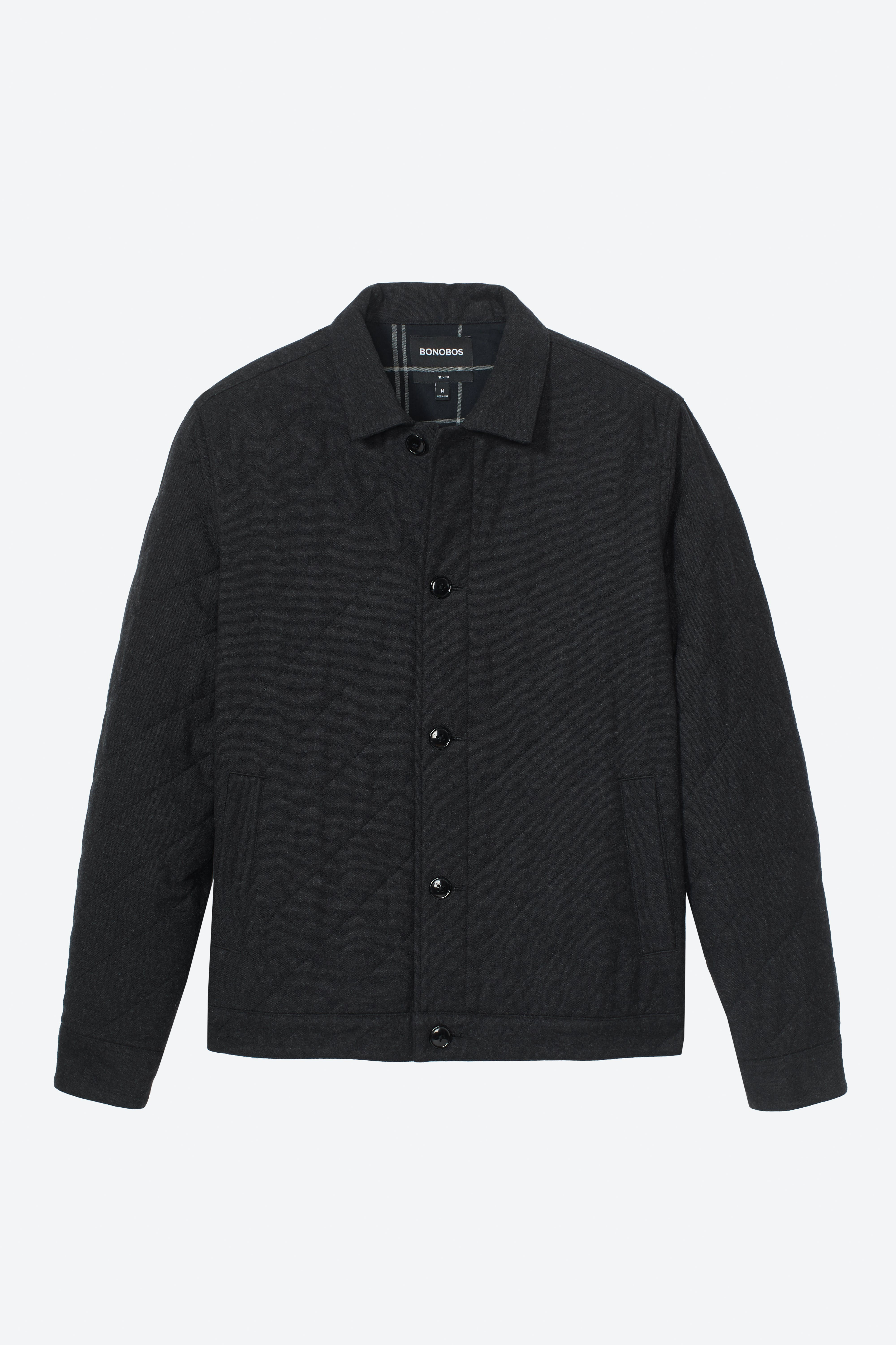 The Quilted Shirt Jacket