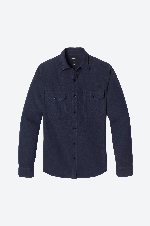 Moleskin Shirt Extended Sizes