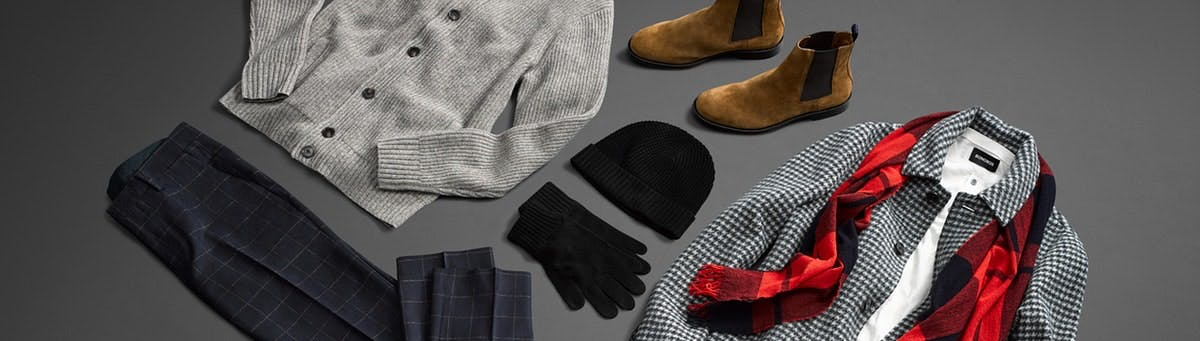 Header showing products for the Winter Prints category