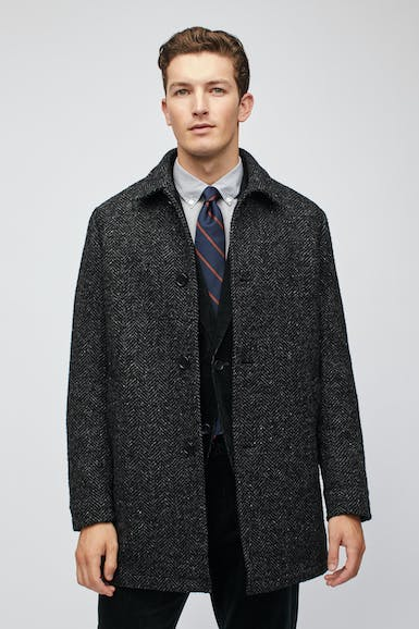 The Italian Wool Car Coat