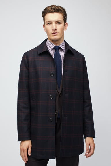 The Italian Wool Car Coat