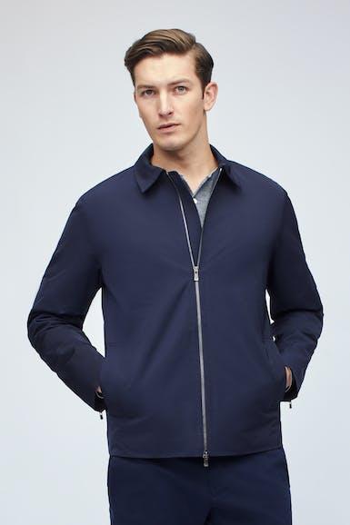 Nylon Full-Zip Jacket