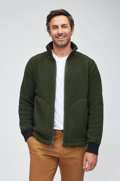 The Sherpa Fleece Jacket