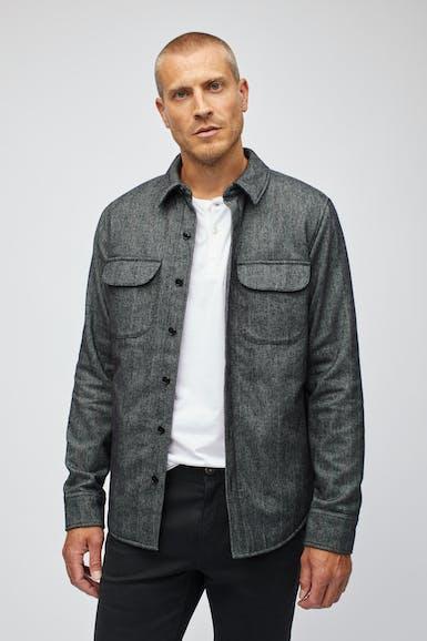 The Cotton Shirt Jacket