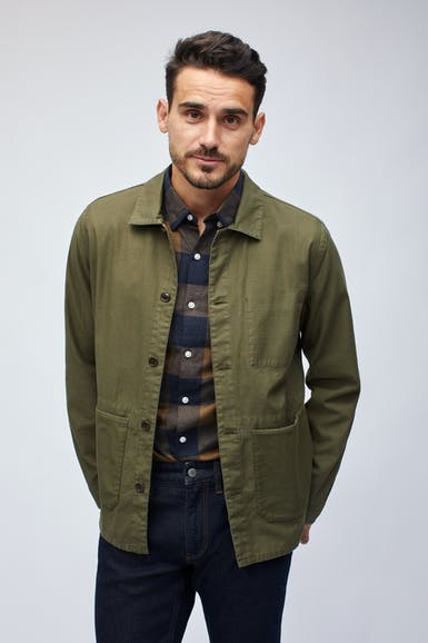 The Cotton Chore Jacket