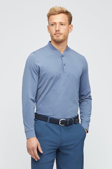 M-Flex Long Sleeve Golf Polo