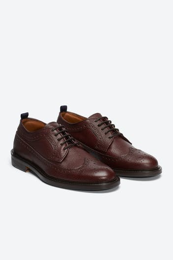 The Percy Wingtip Shoe