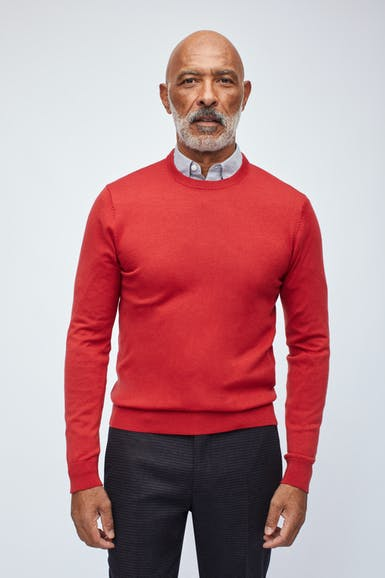 Washable Merino Crew Neck Sweater