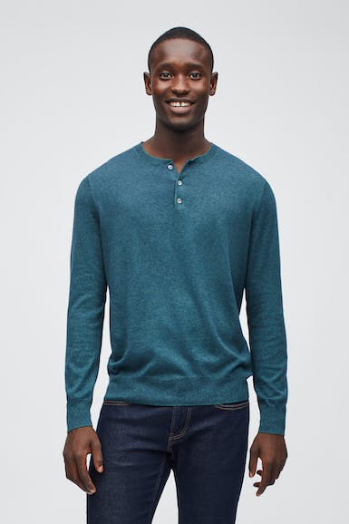 Eco Cotton Sweater Henley
