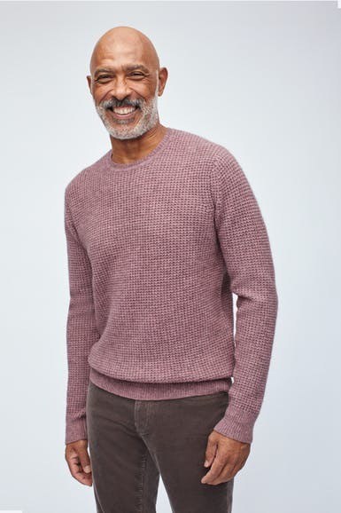 Yak Blend Crew Neck Sweater