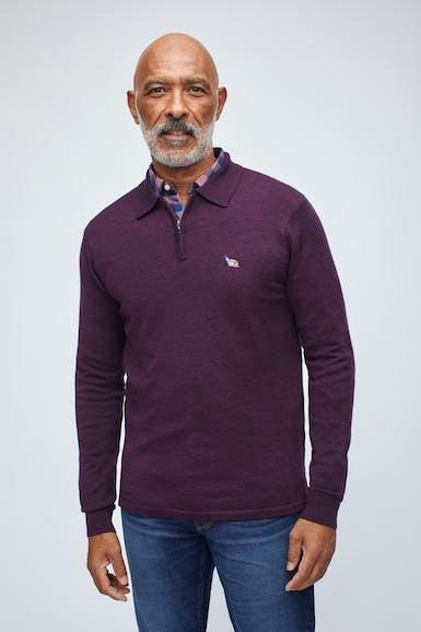 Washable Merino Sweater Polo