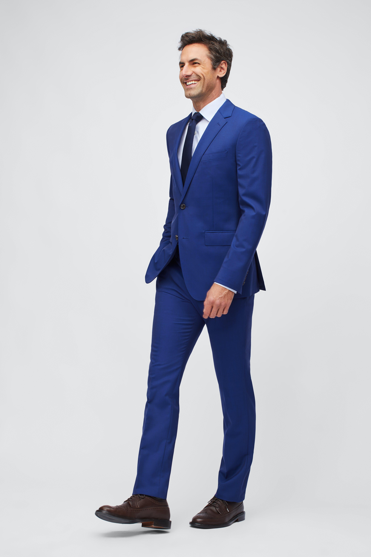 Jetsetter Stretch Italian Wool Suit Jacket