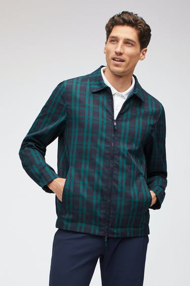 The Tartan Golf Windbreaker