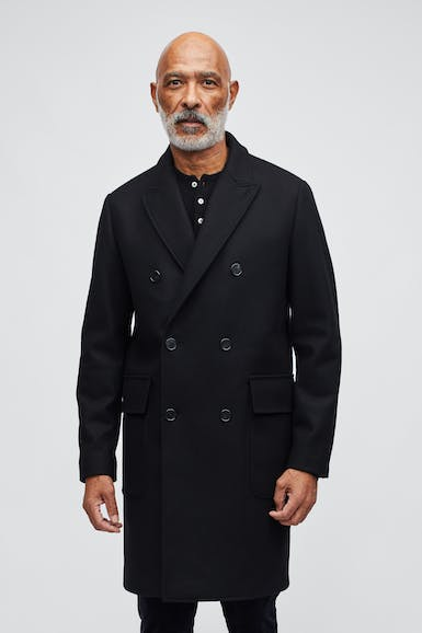 The Wool Cashmere Double Breasted Topcoat