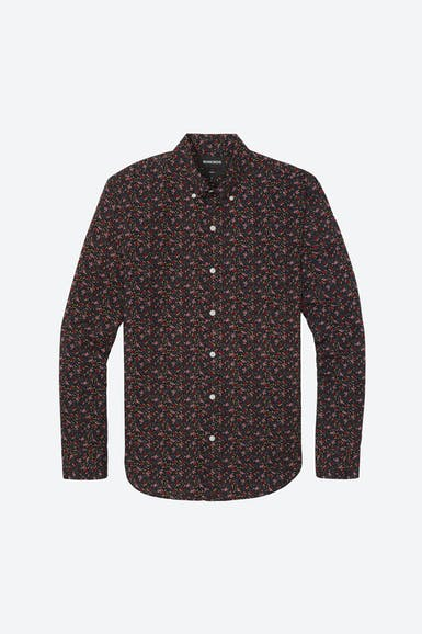 Washed Button-Down Shirt