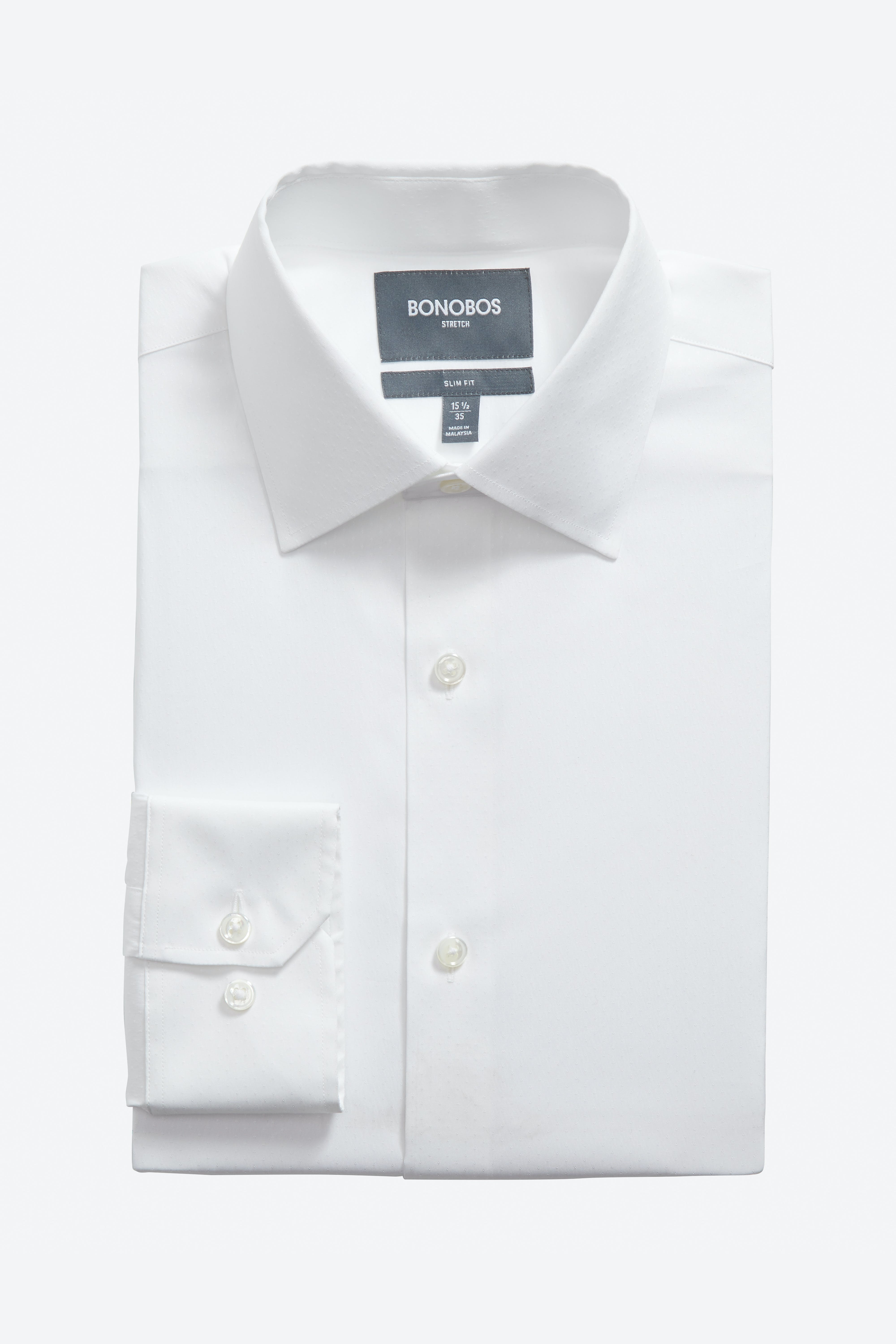 Jetsetter Stretch Dress Shirt Extended Sizes