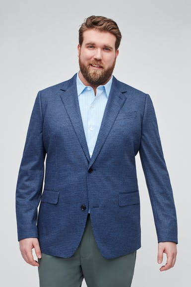 Knit Blazer Extended Sizes