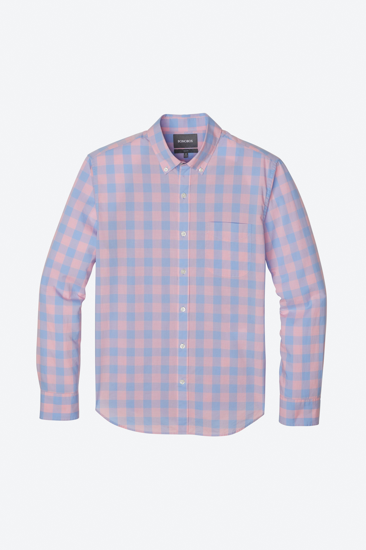 Lightweight Button-Down Shirt Extended Sizes