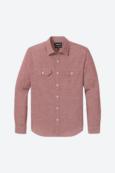Textured Double Pocket Shirt