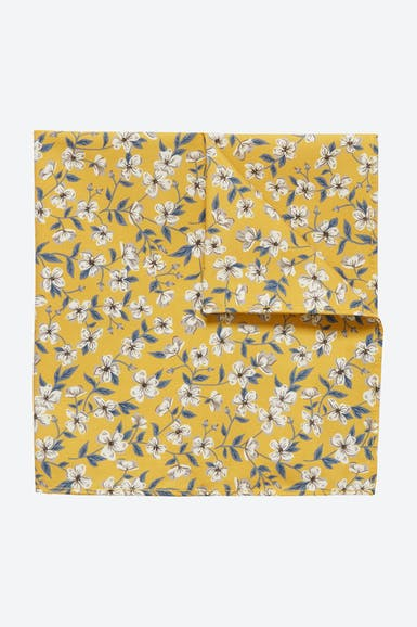 Cotton Pocket Square Made with Liberty Fabric
