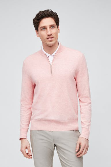 The Clubhouse Golf Half Zip Sweater