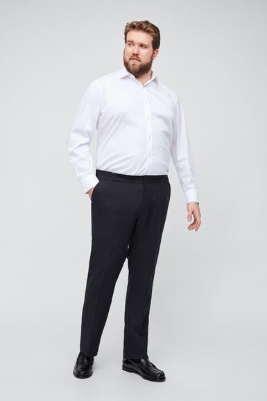 Capstone Italian Stretch Linen Tuxedo Pant - Extended Sizes