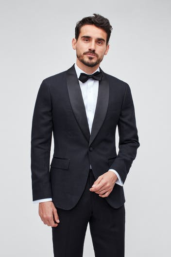 Capstone Stretch Italian Linen Tuxedo Jacket