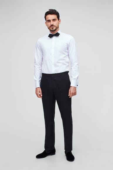 Capstone Stretch Italian Linen Tuxedo Pant