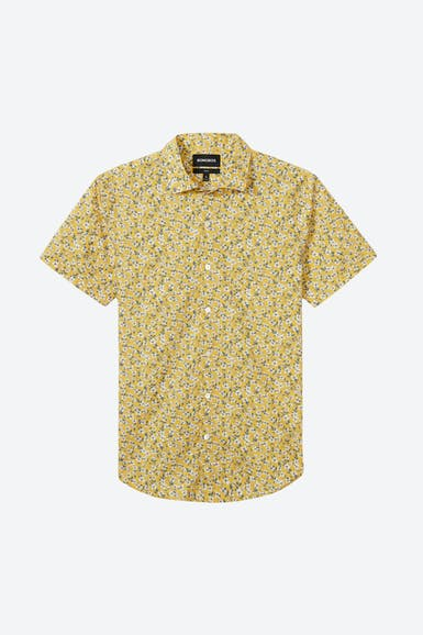 Premium Short Sleeve Shirt Made with Liberty Fabric