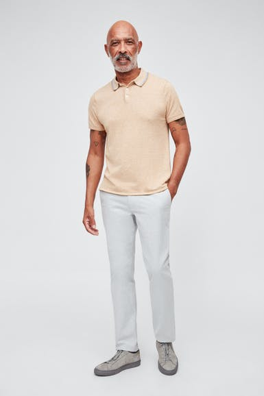 Cotton Cashmere Polo
