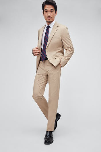 Italian Stretch Cotton Suit