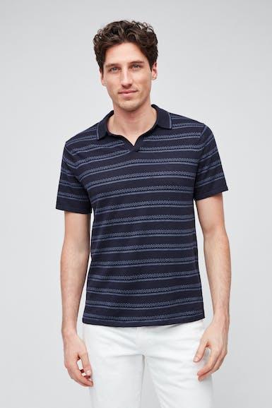 Retro Knit Polo