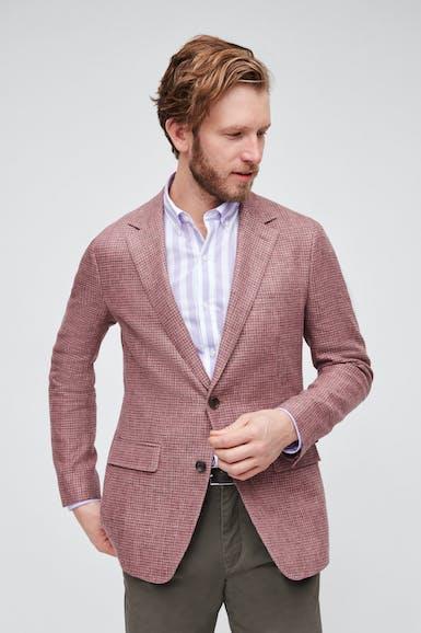 Unconstructed Italian Linen Blazer