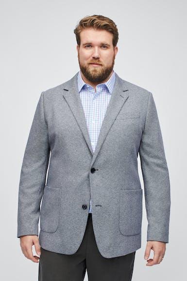 Italian Knit Blazer Extended Sizes
