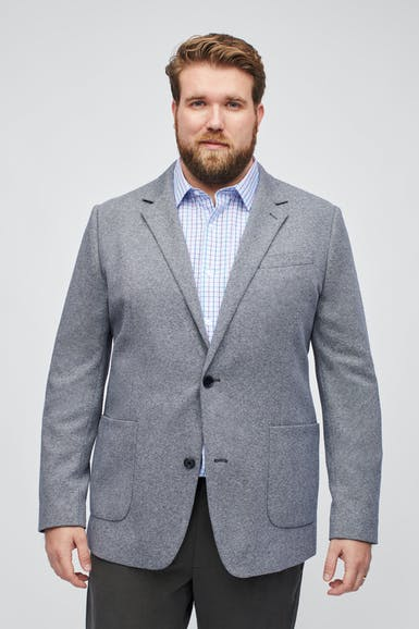 Italian Knit Blazer Extended Sizes