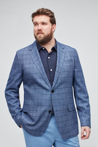 Jetsetter Stretch Wool Blazer Extended Sizes
