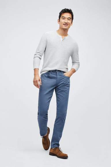 Italian Soft 5-Pocket Pants