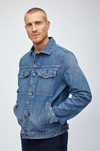 The Stretch Denim Jacket