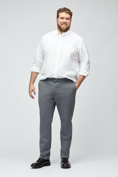 Stretch Washed Chinos Extended Sizes