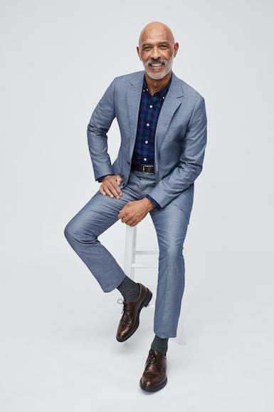 Foundation Chambray Suit Jacket
