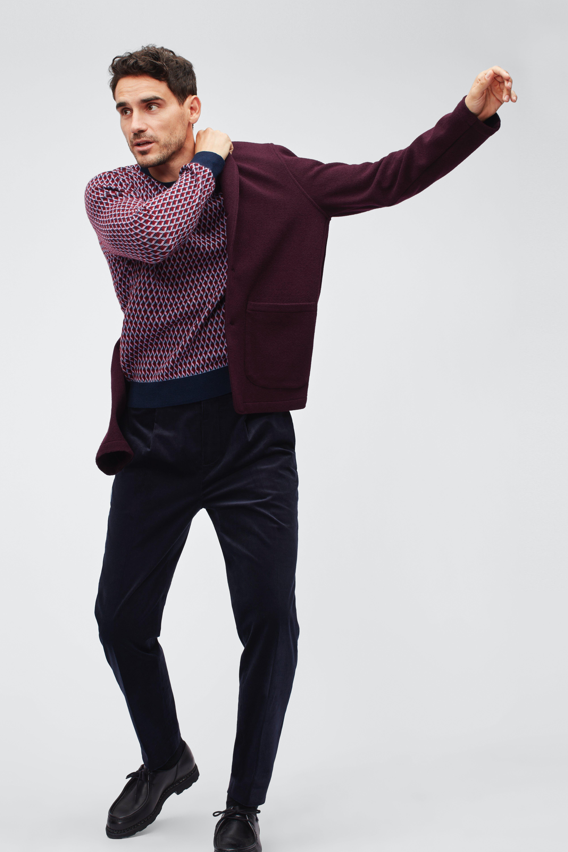 Knit Cardigan Blazer