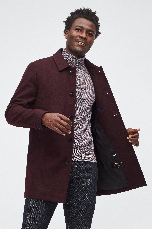 The Wool Car Coat