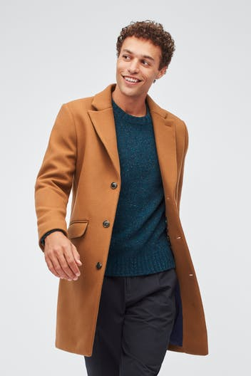 The Stretch Italian Wool Topcoat